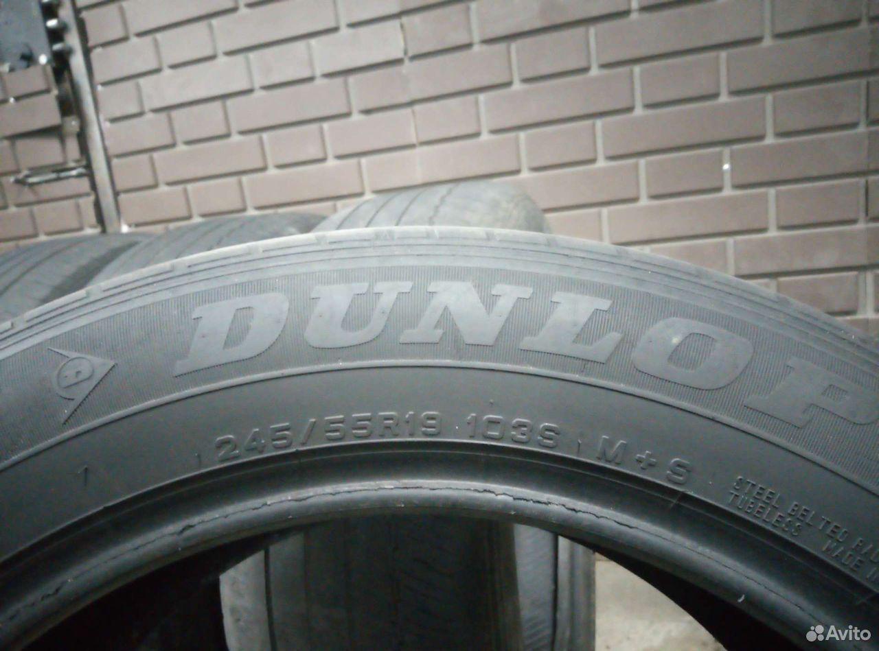 Dunlop grandtrek 245/55 r19 летние  89506888835 купить 1