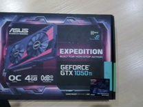 Видеокарта Asus GeForce GTX 1050 Ti expedition OC
