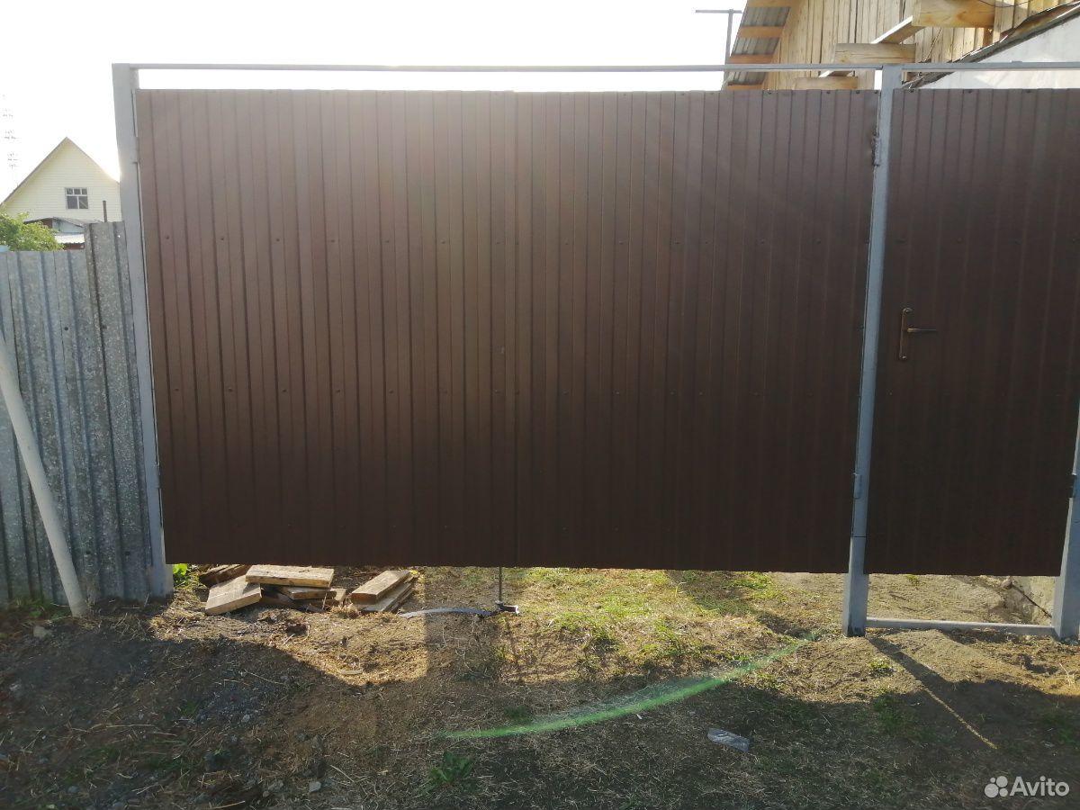 Сделаем забор, ворота из профнастила  89088373003 купить 7