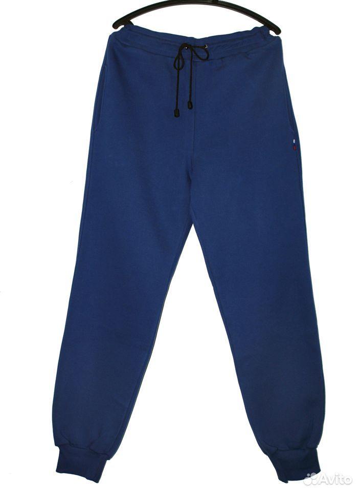 Костюм спортивный теплый синего цвета