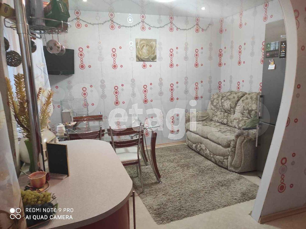 3-к квартира, 62.4 м², 5/5 эт.  89118702449 купить 2