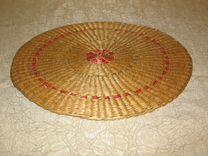 Салфетка соломенная плетёная