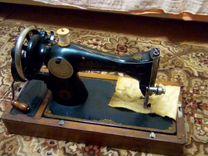 Старинная швейная машинка пмз