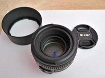 Объектив Nikon AF-S 50mm F1.4 G Nikkor