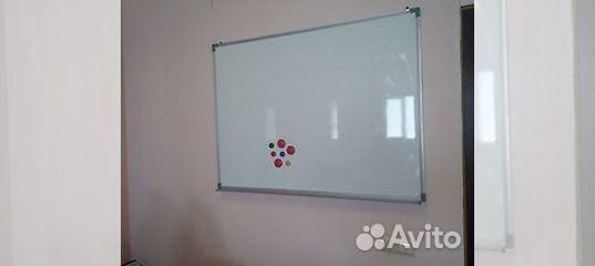 Доска 90x120 см + маркеры + магниты купить в Республике Татарстан   Для бизнеса   Авито