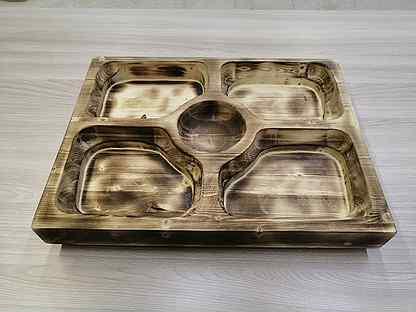 Тарелка из дерева(манежница)