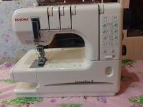 Распошивальная швейная машина Janome Cover Pro ll
