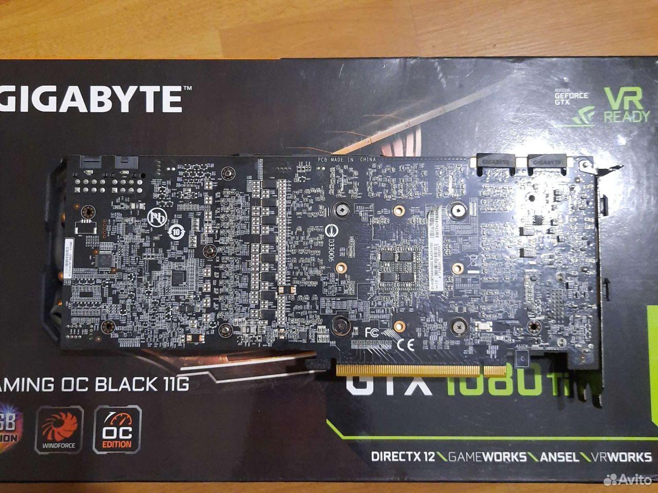 Gigabyte gtx 1080 ti Gaming oc black 11g  89185887790 купить 2