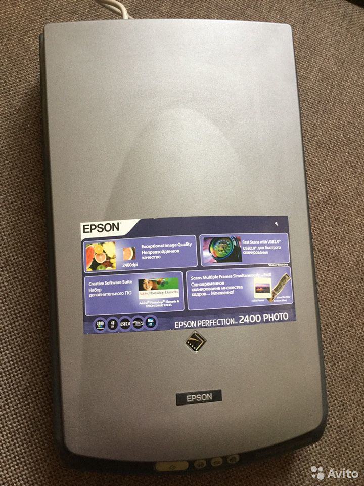 Сканер epson perfection 2400 foto  89112122424 купить 2