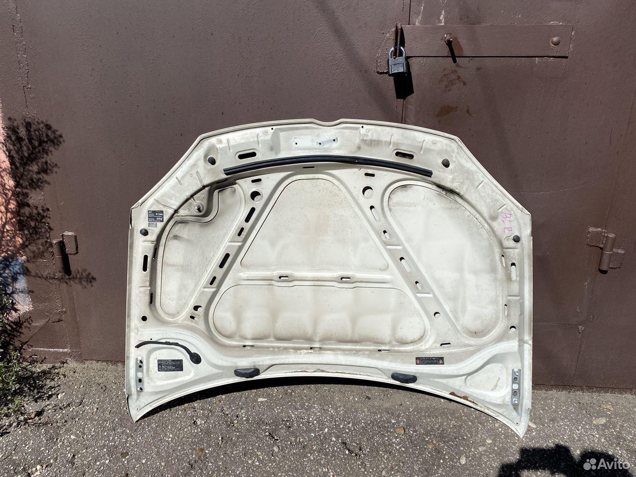 Капот белый Volkswagen Jetta 5, Golf 5 №2  89534684247 купить 4