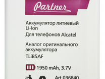 Alcatel TLiB5AF (Partner пр036840) (1950 мАч)