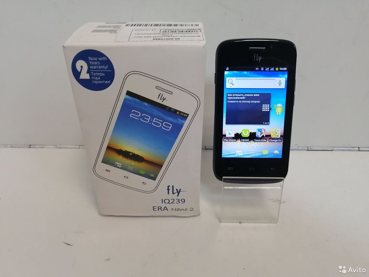 Мобильный телефон Fly IQ239 ERA Nano 2