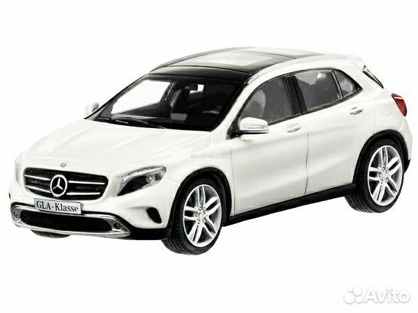 1:43 Mercedes-Benz GLA (Schuco) White. B66960266