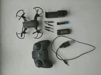 Складной карманный квадрокоптер с камерой
